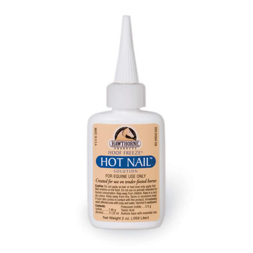 Hot Nail Horseshoe Nail Pain Reliever | Hawthorne Products